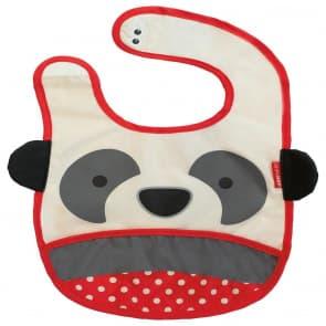 Skip Hop Zoo Tuck-Away Baby Bib Panda