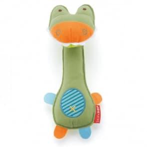 Skip Hop Squeeze Me Rattle - Crocodile