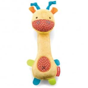 Skip Hop Squeeze Me Rattle - Giraffe