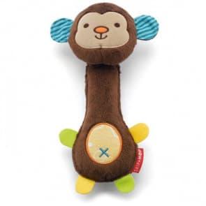Skip Hop Squeeze Me Rattle - Monkey