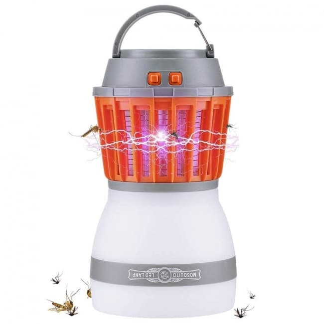 Waterproof Rechargeable Mosquito Zapper Light | Toy Game Shop